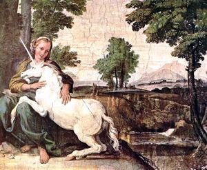 La doncella y el unicornio